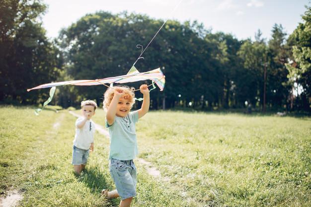 børn der leger